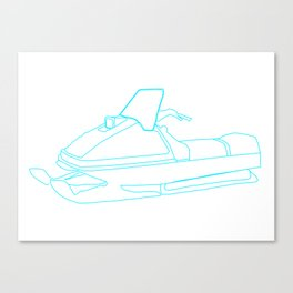 ski-doo Canvas Print