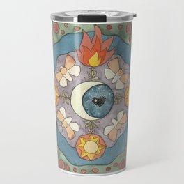 Cosmia Watercolor Travel Mug