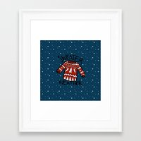 sweater Framed Art Prints featuring Sweater by Mr & Mrs Quirynen