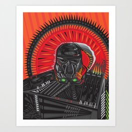 xDEATHTROOPERx Art Print