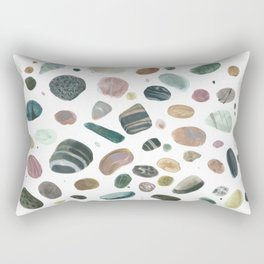 Pebbles and pearls Rectangular Pillow