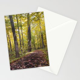 A walk down the Path Stationery Cards