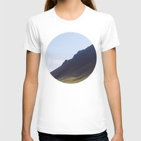 iceland T-shirts featuring Obliquo, Iceland by Mara Brioni Art Photography