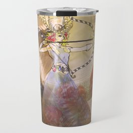 Alice, Goddess of the Hunt Travel Mug