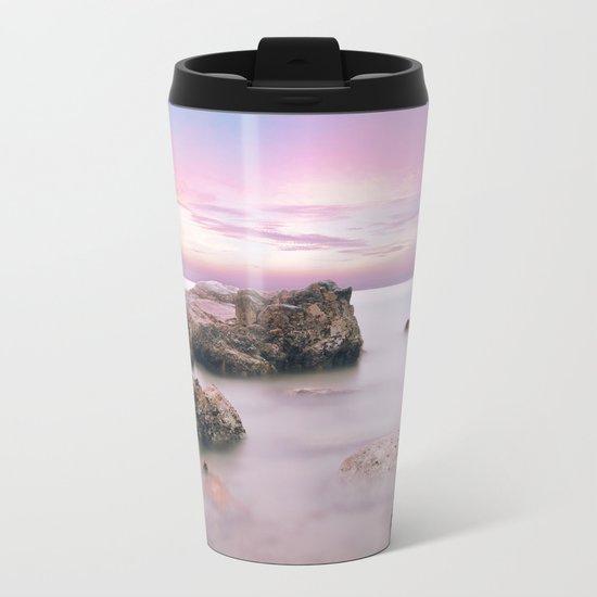 Calming Hues Metal Travel Mug