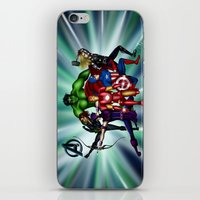 heroes iPhone & iPod Skins featuring Heroes by Callie Clara