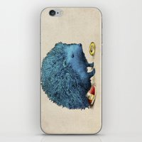 sonic iPhone & iPod Skins featuring Sonic by Eric Fan