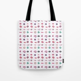 Lips collection Tote Bag