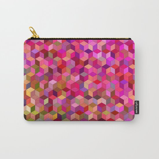 Girly cube structure Carry-All Pouch