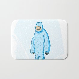 Yeti in the Snow Bath Mat
