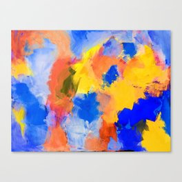 Untitled Abstract 3 Canvas Print