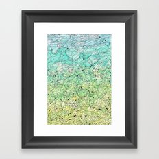 Between The Earth and Sky Framed Art Print