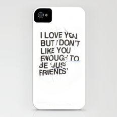 Just Friends Slim Case iPhone (4, 4s)