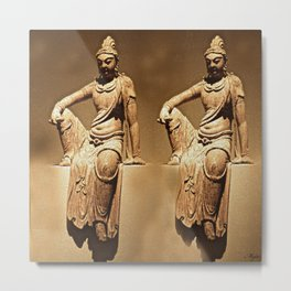 China Antiquities #14 Metal Print