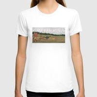 greyhound T-shirts featuring Greyhound by Jeff Crosby