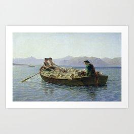 Rosa Bonheur Sheep Painting Art Print