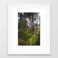 outlander Framed Art Prints featuring Magic Light by KClark Photography