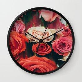 Beauty is Fleeting Wall Clock