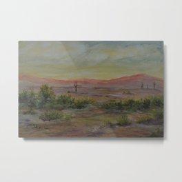 Saguaro Sunset WC151206d-13 Metal Print