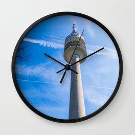 Olmpic tower Munich Wall Clock