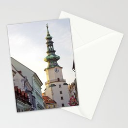 Bratislava Tower Stationery Cards