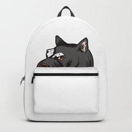 Miniature Schnauzer Dog Doggie Puppy Backpack