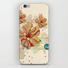 out flowers iPhone & iPod Skin