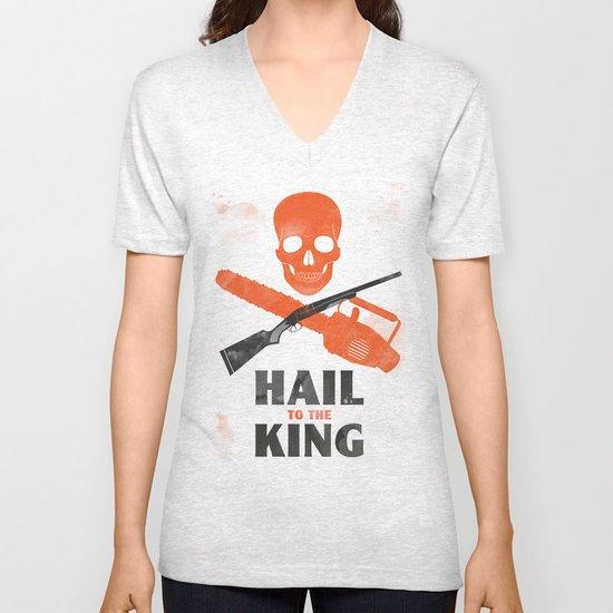 Hail to the King! Unisex V-Neck
