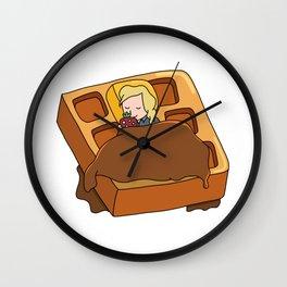 Leslie Knope + Giant Waffle Wall Clock