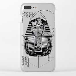 The Pharaoh Clear iPhone Case