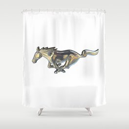Mustang 1 Shower Curtain