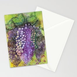 The Mighty Grape Stationery Cards