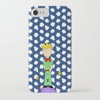 le petit prince iPhone & iPod Cases featuring Le petit prince by EnelBosqueEncantado