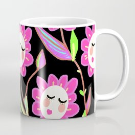 Psychedelic Ladyflowers Coffee Mug