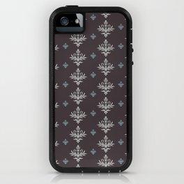 Victorian Brown Pattern iPhone Case