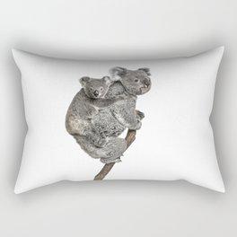 Mother Koala and her Baby Rectangular Pillow