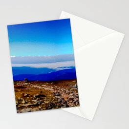 Mountain Field. Stationery Cards