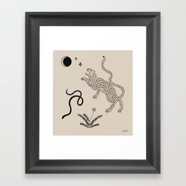 Desert Prey Framed Art Print