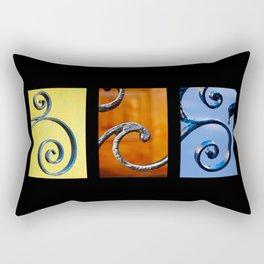 Wrought Iron Set 1 Rectangular Pillow