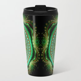 Pretty eyes, swirling pattern abstract Travel Mug