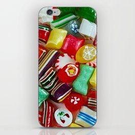Colorful candy mix iPhone Skin