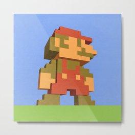 Mario NES nostalgia Metal Print