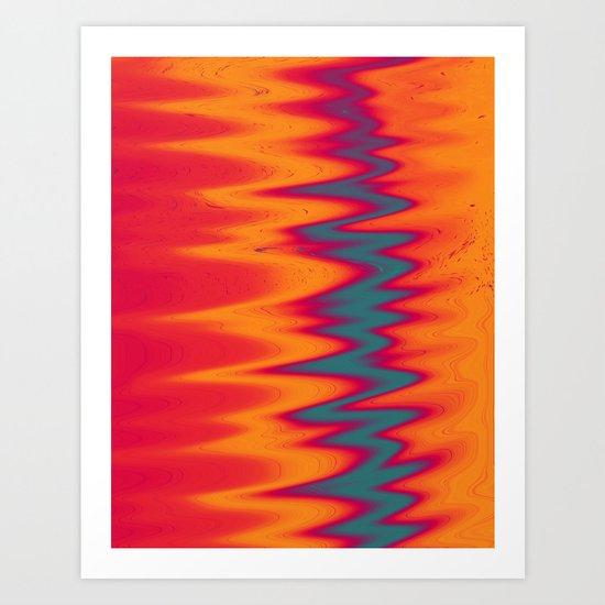 Solarized Art Print