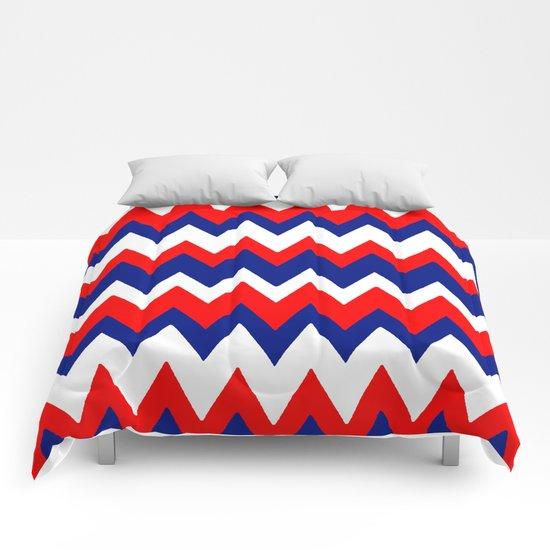 Red, White and Blue, 2016 Comforters