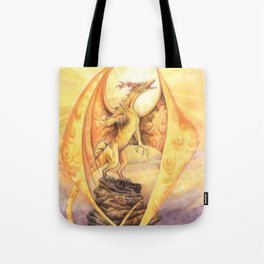 Celestial Dragons - The Sun Tote Bag