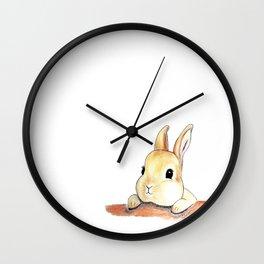 Blinking eyes are staring at you Wall Clock