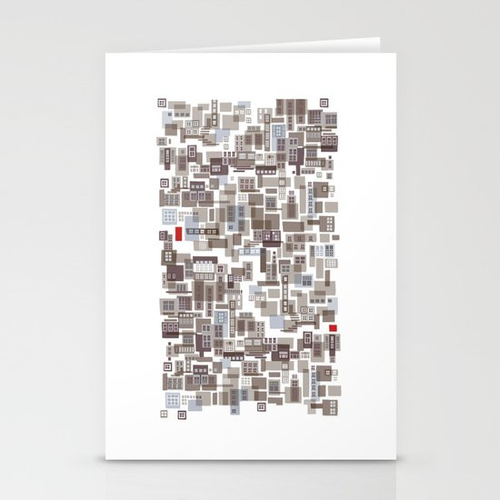 mapping home 4 Stationery Cards