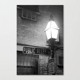 public alley 101 Canvas Print