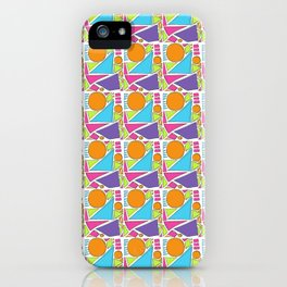 Sunny Shapes iPhone Case