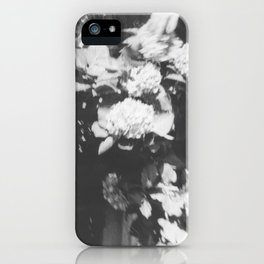 Mission Hill in black iPhone Case